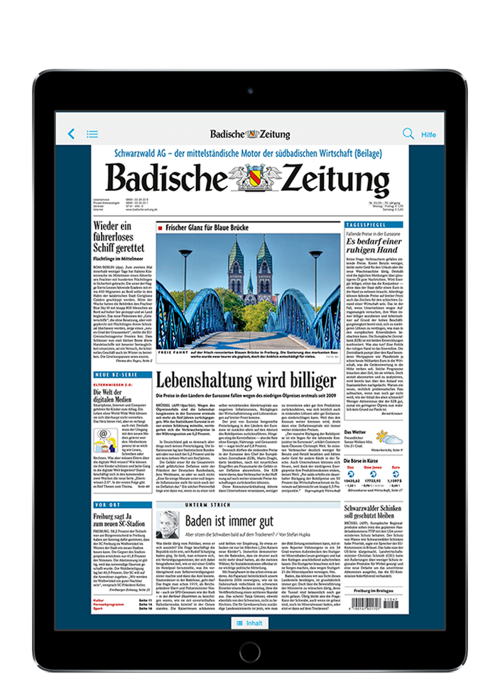 BZ Kombi-Abo - 9,7″ iPad (2018)