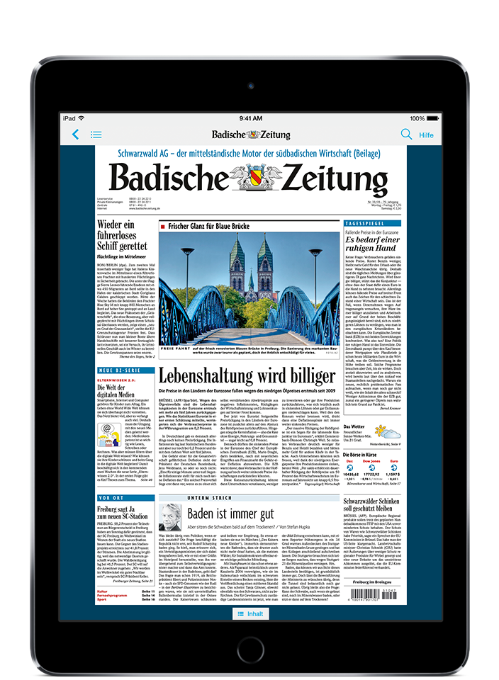 BZ Kombi-Abo - Apple iPad 10,2″ (2019)