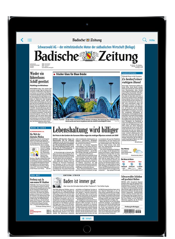 BZ Kombi-Abo - 10,5″ iPad Pro