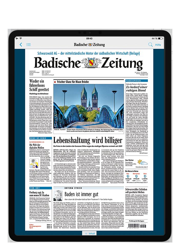 BZ Kombi-Abo - iPad Pro 11″