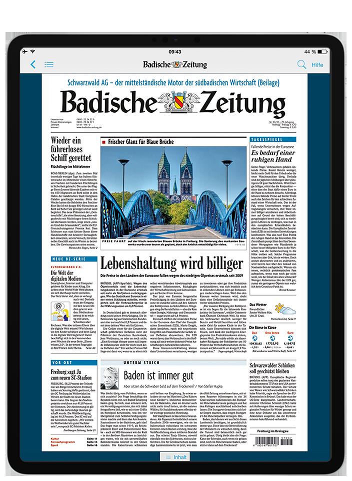 BZ Kombi-Abo - 12,9″ iPad Pro
